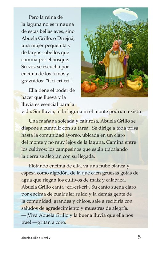 Book Preview For Abuela grillo Page 5