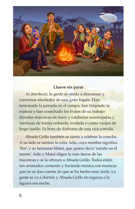 Book Preview For Abuela grillo Page 6