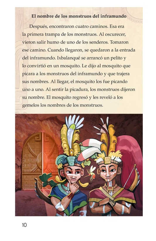 Book Preview For Los héroes gemelos Page 10