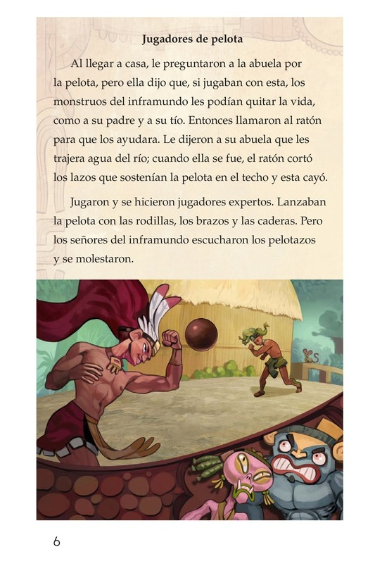 Book Preview For Los héroes gemelos Page 6