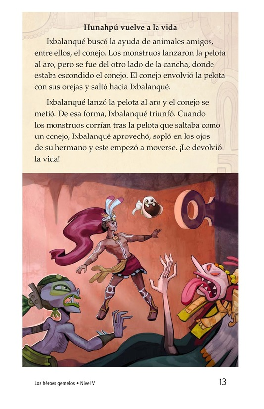 Book Preview For Los héroes gemelos Page 13