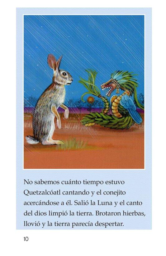 Book Preview For El conejo en la luna Page 10