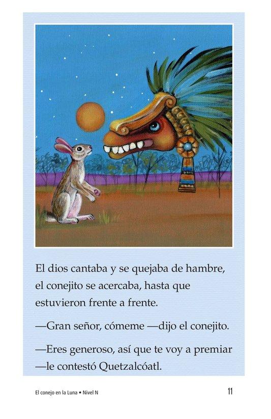 Book Preview For El conejo en la luna Page 11