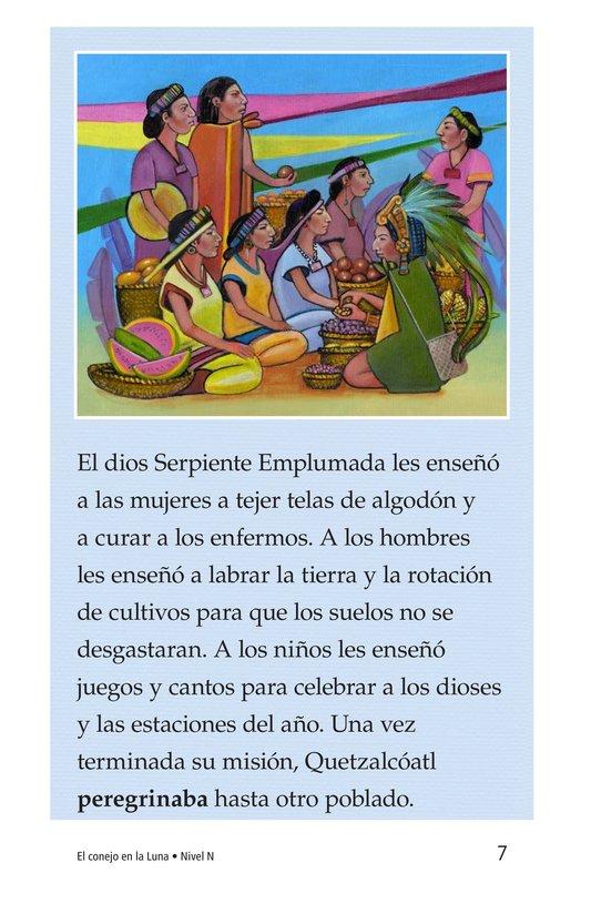 Book Preview For El conejo en la luna Page 7