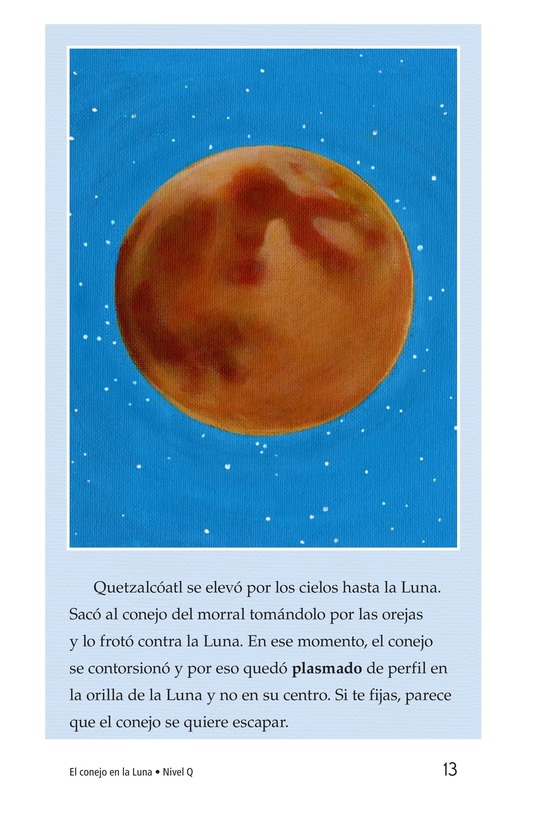 Book Preview For El conejo en la luna Page 13