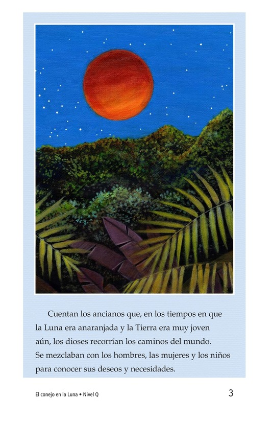 Book Preview For El conejo en la luna Page 3