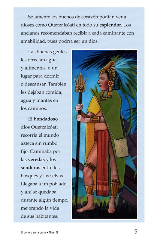 Book Preview For El conejo en la luna Page 5