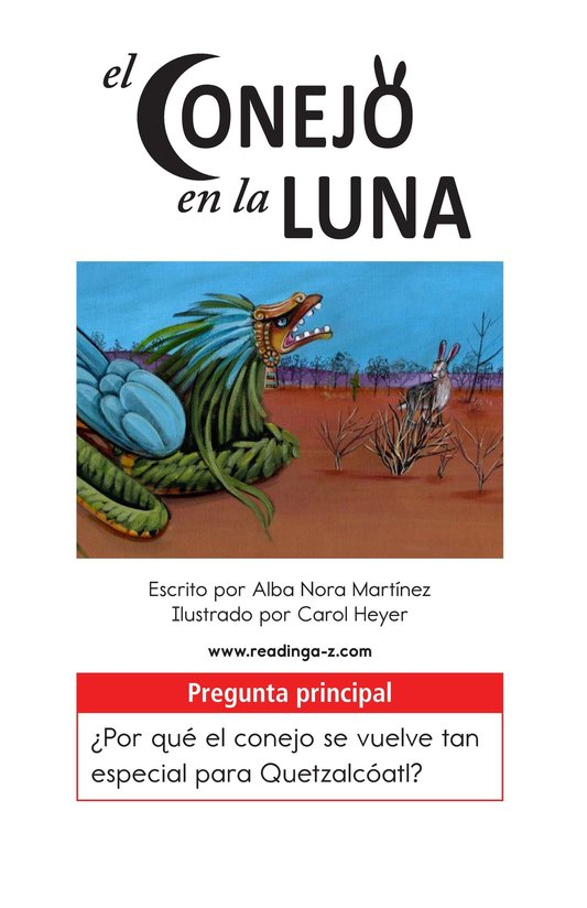 Book Preview For El conejo en la luna Page 1