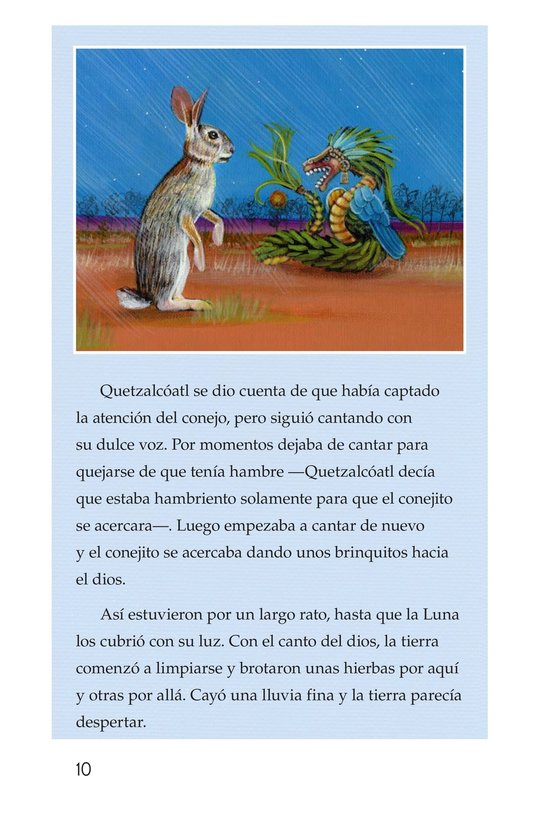 Book Preview For El conejo en la luna Page 10