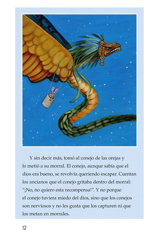 Book Preview For El conejo en la luna Page 12