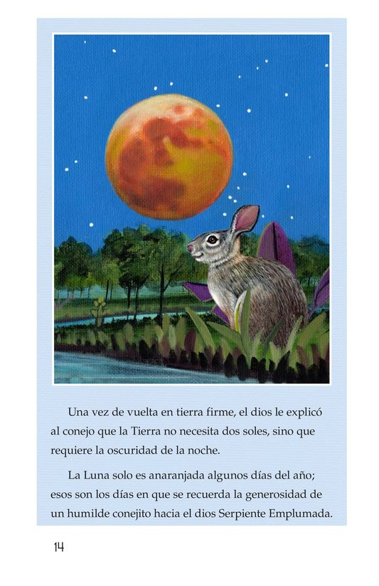 Book Preview For El conejo en la luna Page 14