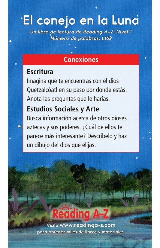 Book Preview For El conejo en la luna Page 17