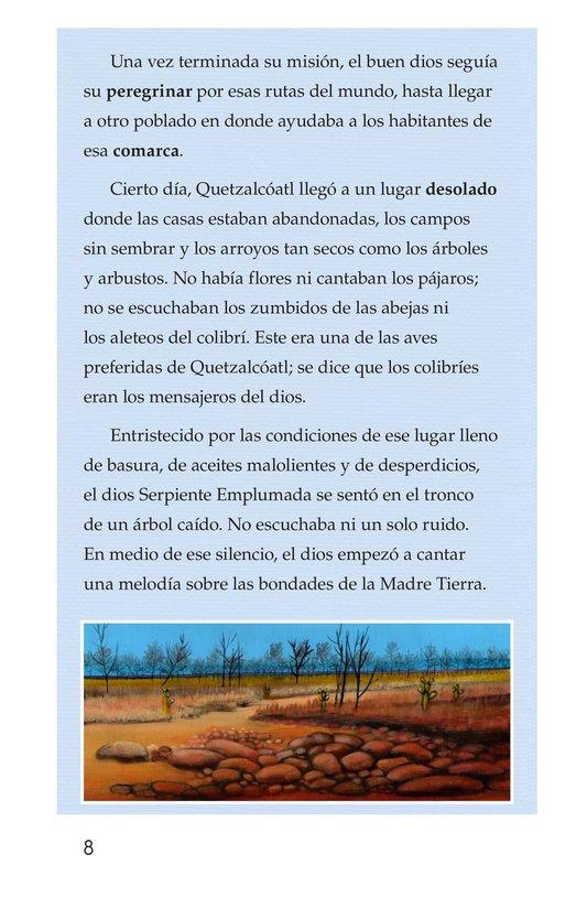 Book Preview For El conejo en la luna Page 8