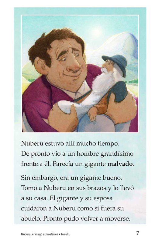 Book Preview For Nuberu, el mago atmosférico Page 7
