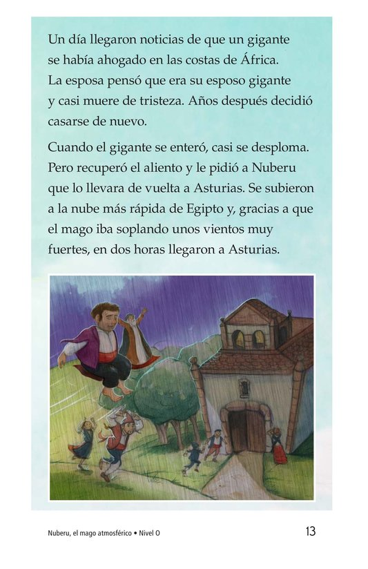 Book Preview For Nuberu, el mago atmosférico Page 13