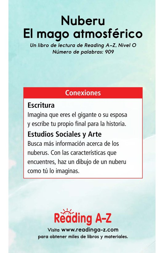 Book Preview For Nuberu, el mago atmosférico Page 17