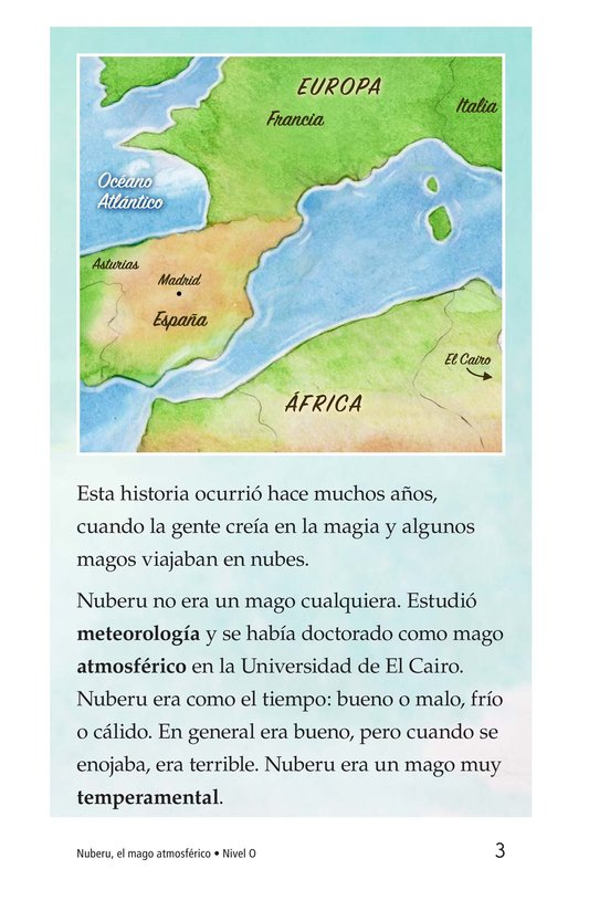 Book Preview For Nuberu, el mago atmosférico Page 3