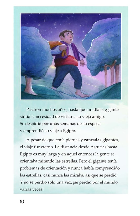 Book Preview For Nuberu, el mago atmosférico Page 10