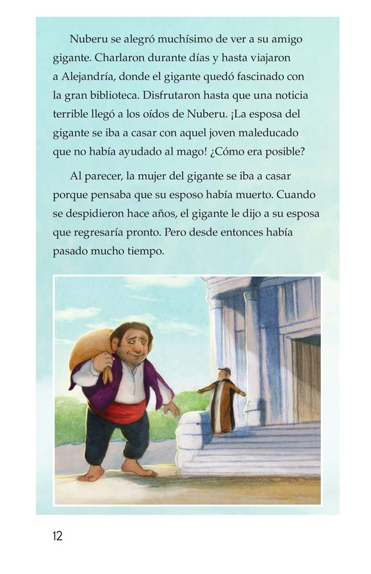 Book Preview For Nuberu, el mago atmosférico Page 12