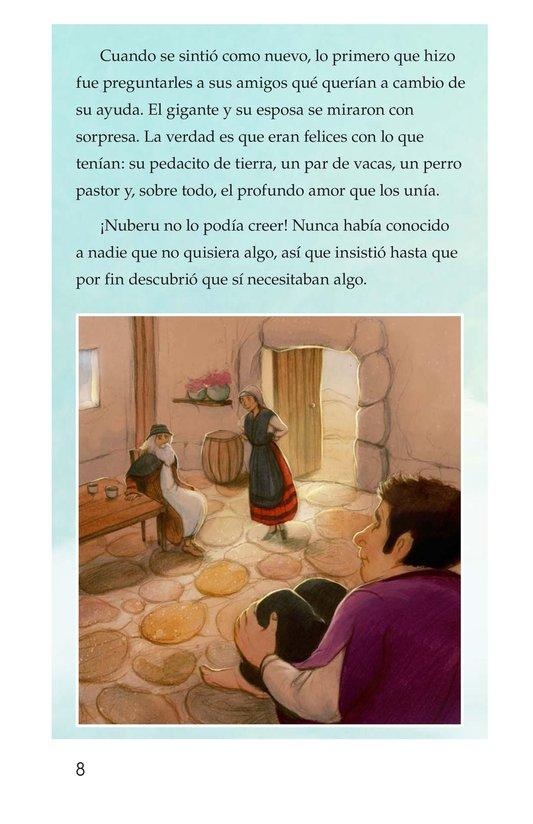 Book Preview For Nuberu, el mago atmosférico Page 8