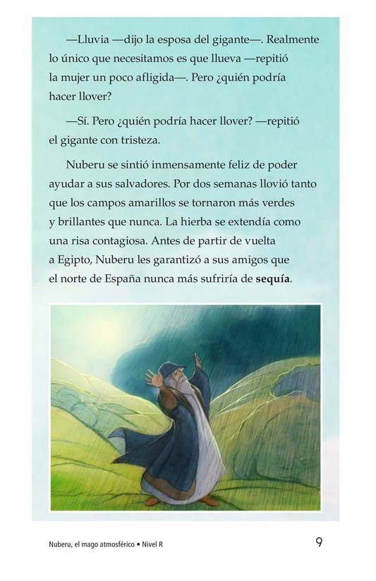 Book Preview For Nuberu, el mago atmosférico Page 9
