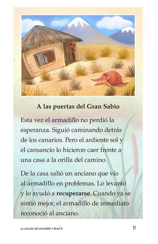 Book Preview For La canción del armadillo Page 11