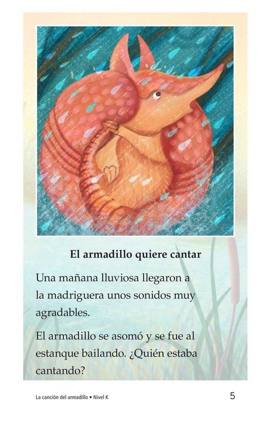 Book Preview For La canción del armadillo Page 5