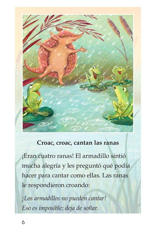 Book Preview For La canción del armadillo Page 6