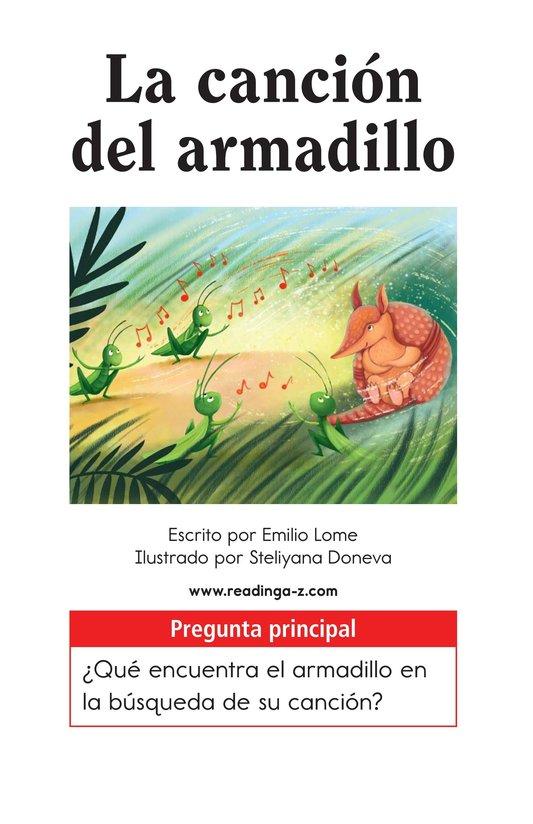 Book Preview For La canción del armadillo Page 1