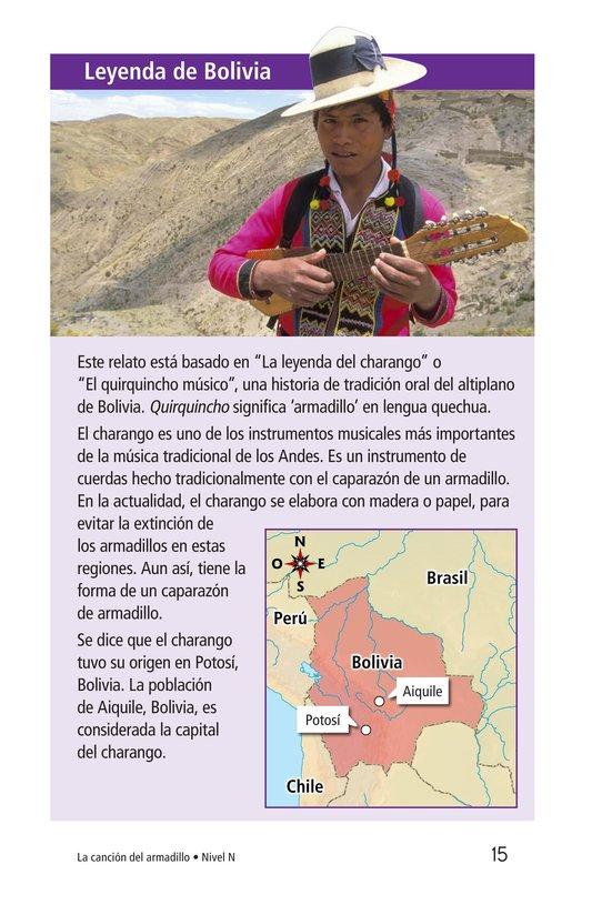 Book Preview For La canción del armadillo Page 15