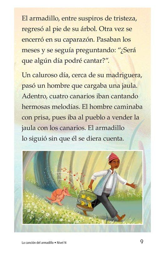 Book Preview For La canción del armadillo Page 9