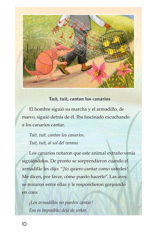 Book Preview For La canción del armadillo Page 10