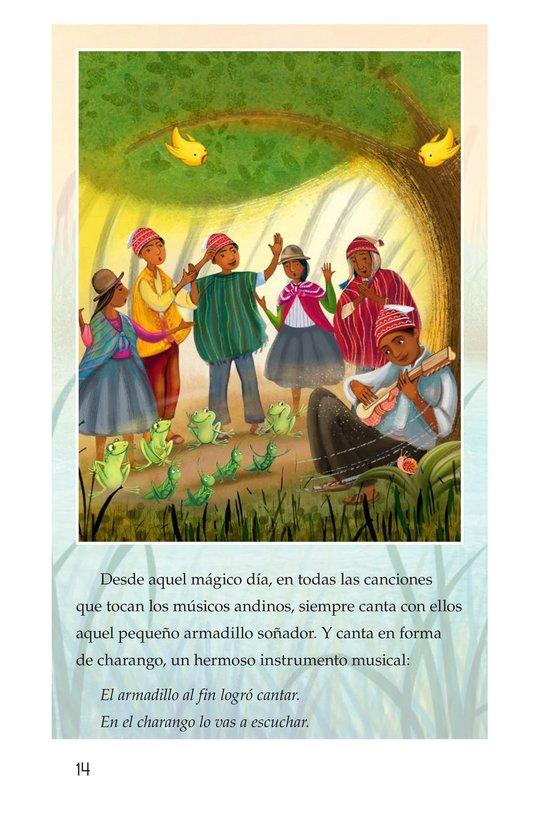 Book Preview For La canción del armadillo Page 14
