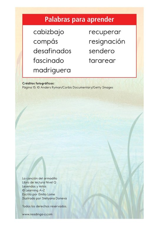 Book Preview For La canción del armadillo Page 2