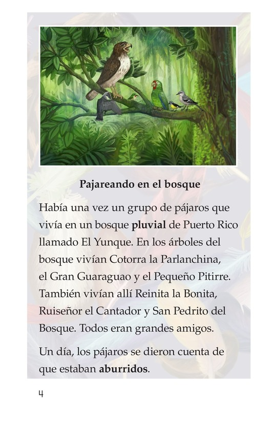 Book Preview For El plumaje del múcaro Page 4