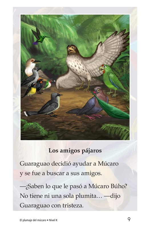 Book Preview For El plumaje del múcaro Page 9