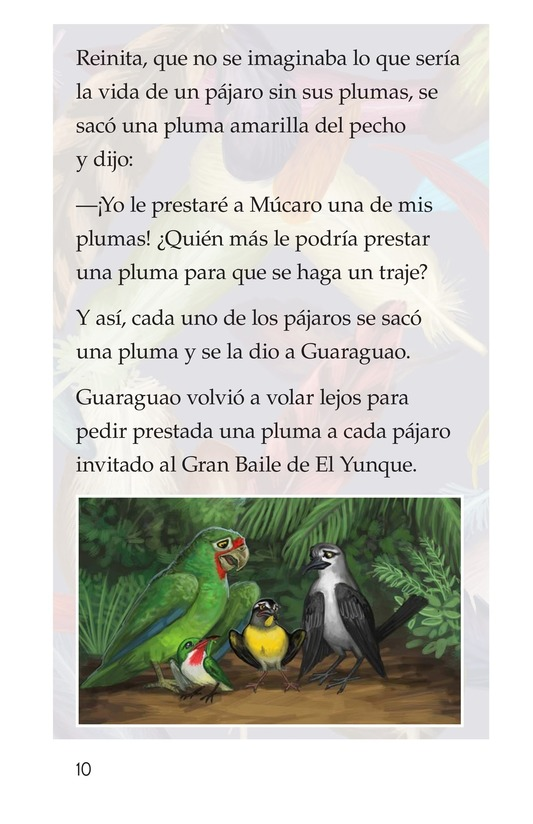 Book Preview For El plumaje del múcaro Page 10