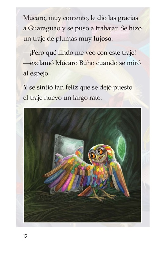 Book Preview For El plumaje del múcaro Page 12
