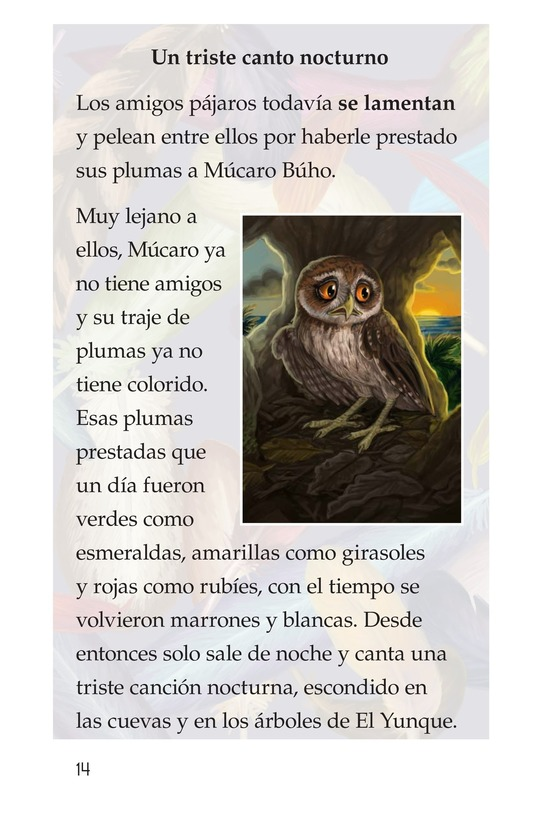 Book Preview For El plumaje del múcaro Page 14