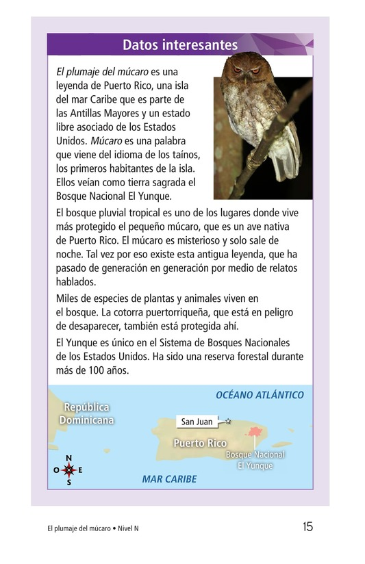 Book Preview For El plumaje del múcaro Page 15