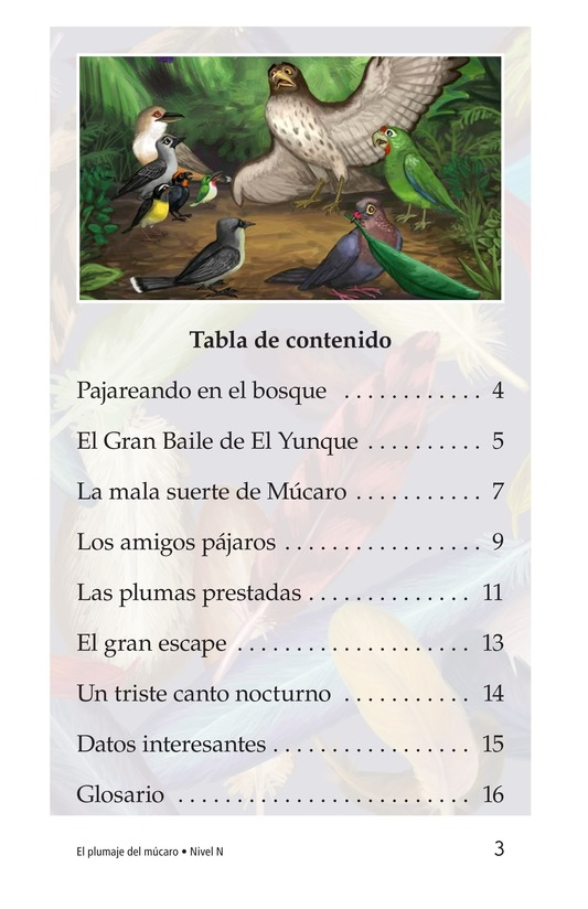 Book Preview For El plumaje del múcaro Page 3