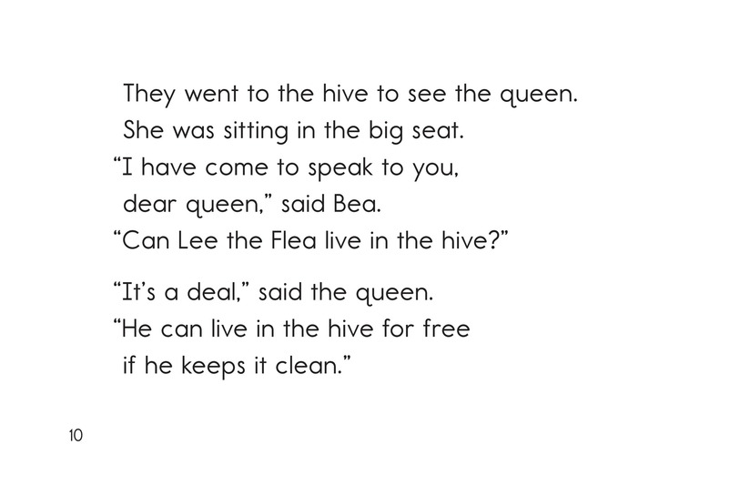 Book Preview For The Bee and the Flea Page 10