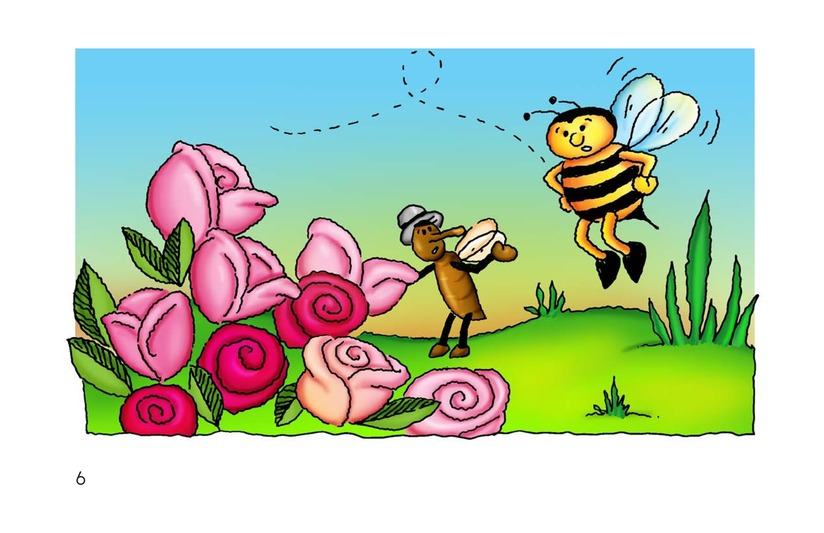 Book Preview For The Bee and the Flea Page 6