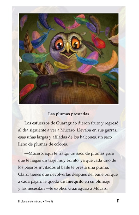 Book Preview For El plumaje del múcaro Page 11