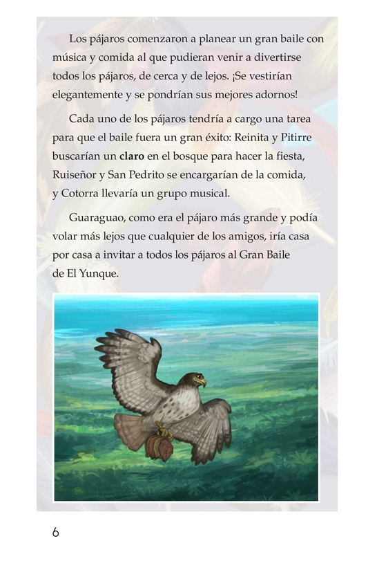 Book Preview For El plumaje del múcaro Page 6