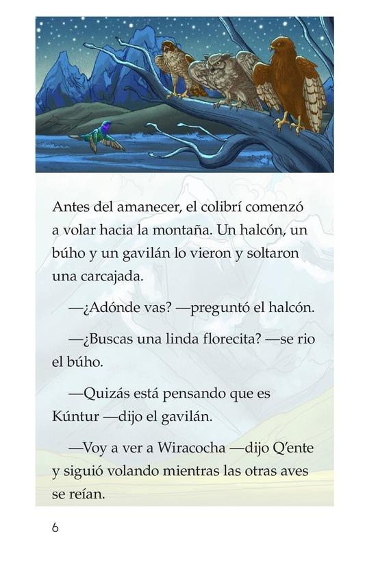 Book Preview For El sueño del colibrí Page 6