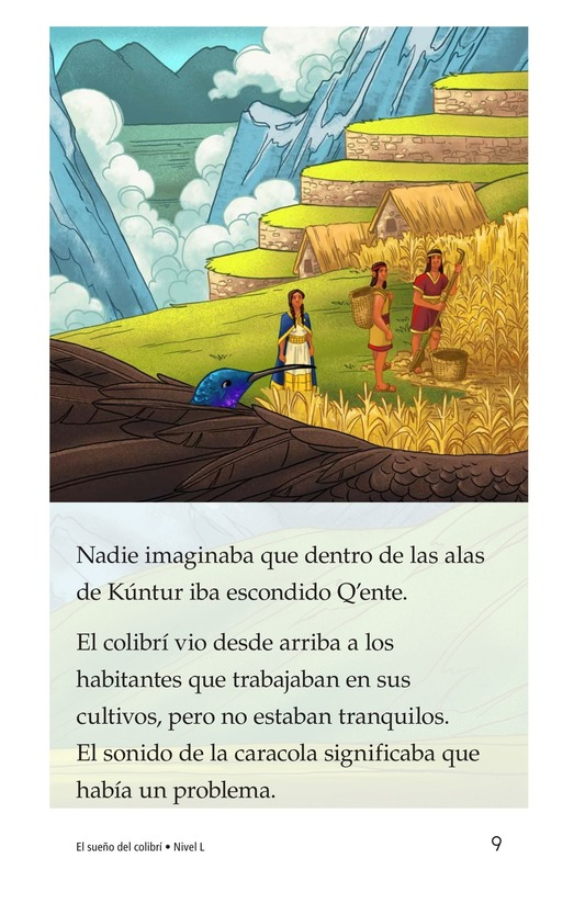 Book Preview For El sueño del colibrí Page 9