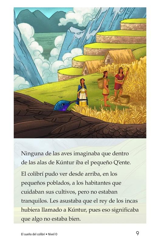Book Preview For El sueño del colibrí Page 9