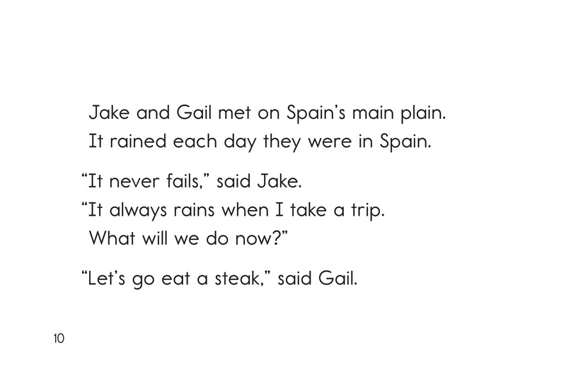 Book Preview For Jake and Gail Go to Spain Page 10