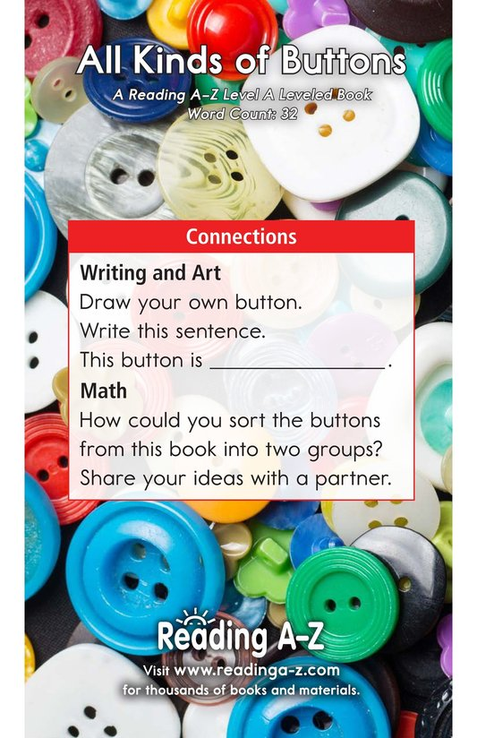 Book Preview For All Kinds of Buttons Page 11